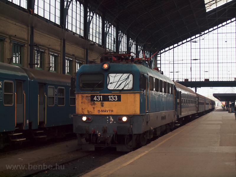 A MÁV-TR 431 133 Budapest-N fotó