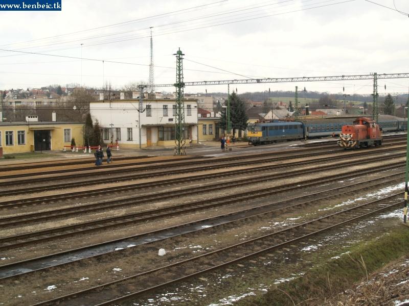 A mozdonyunk visszatér a gyárba fotó