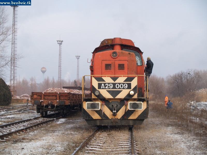 A29 009 a bauxtrakodónál fotó
