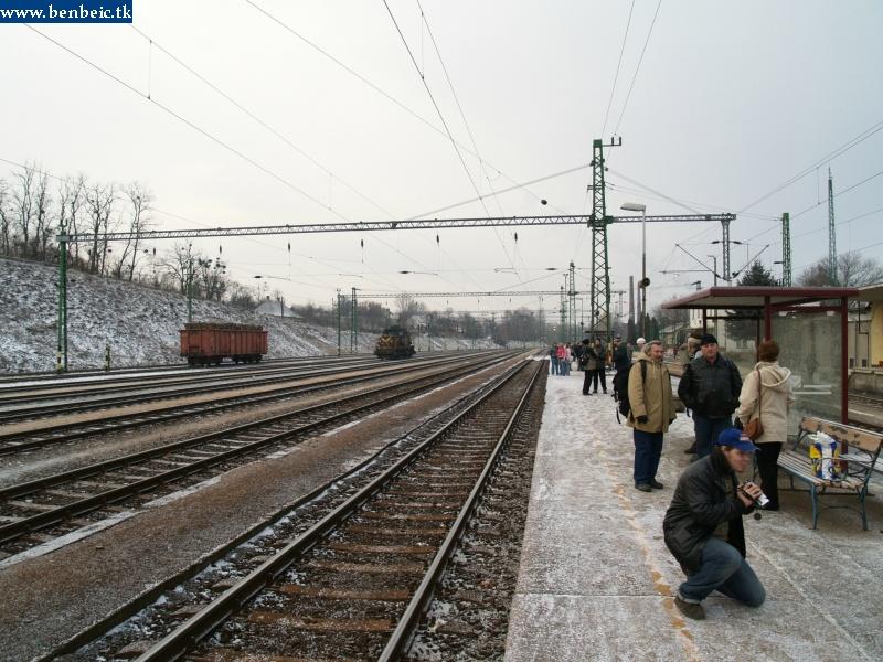 Ajka állomás látképe fotó