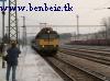 V43 1016 személyvonattal érkezik Ajkára
