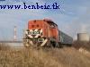 Megálltunk a bauxitrakodóhoz vezető vasút egy felüljárójánál