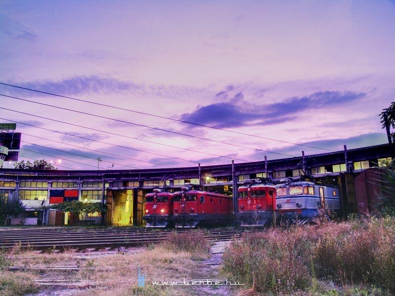 Mozdonyparádé a belgrádi fûtõházban fotó