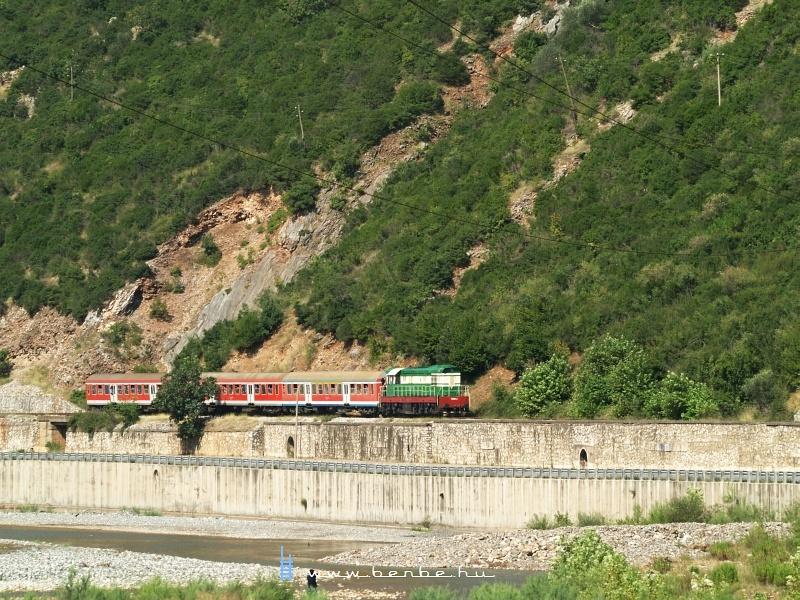 T669 1047 a pogradeci személlyel Elbasan után fotó