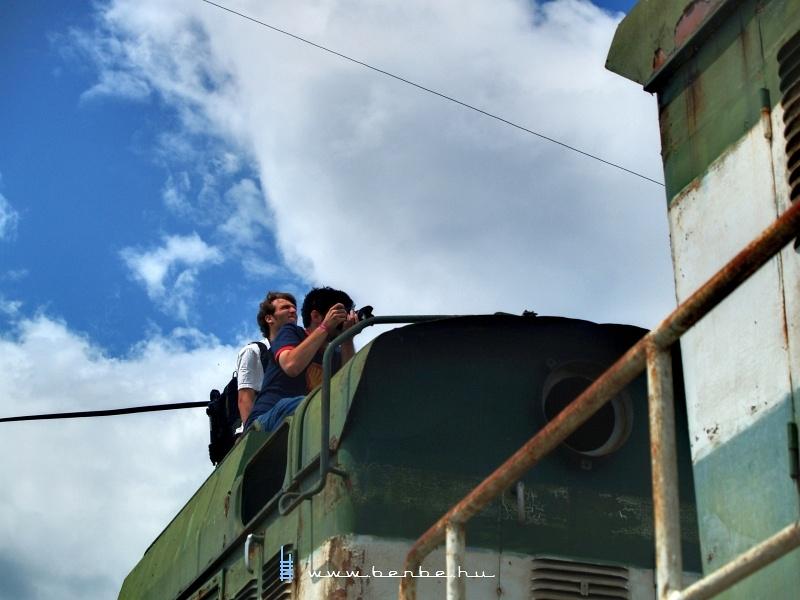 Vasútfotósok a Dongók tetején fotó