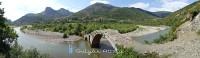 An ancient stone bridge near Librazhd