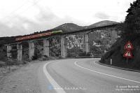 T669 1047 a Qukës elõtti nagy viadukton