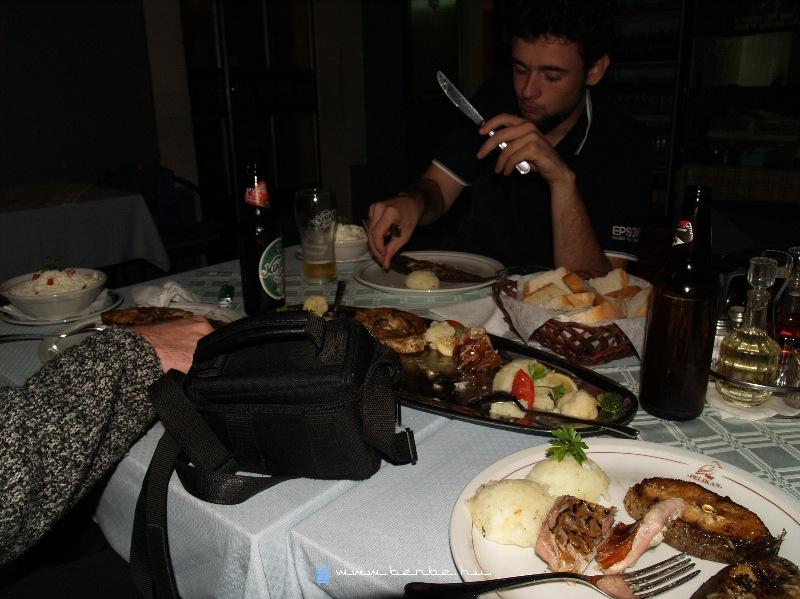 Vacsora Virpazarban fotó
