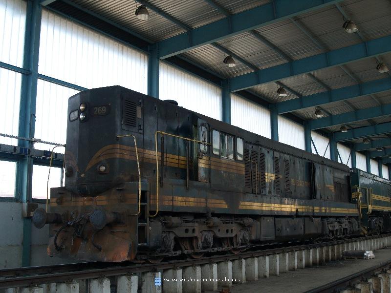 661 269 a podgoricai fûtõházban fotó