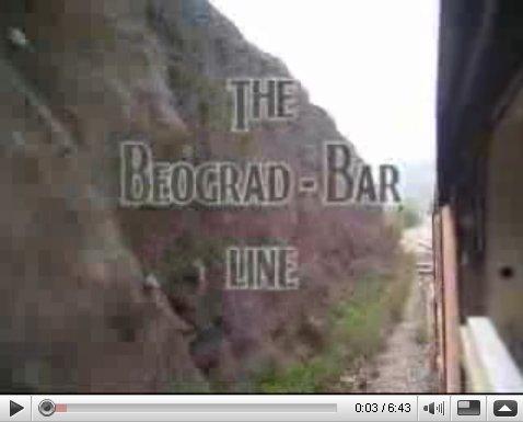 Egy YouTube-videót embedelnék a Belgrád-Bar vonalról, hogy legyen sejtésetek róla, milyen az fotó