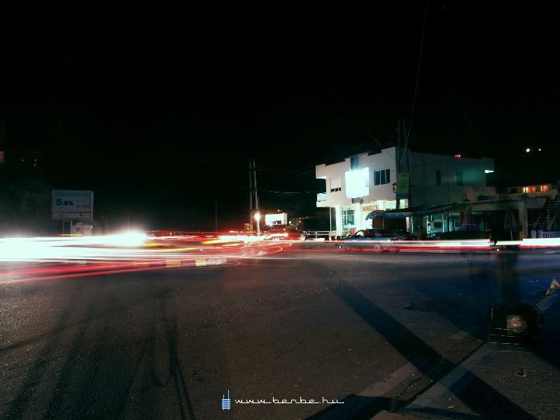 Körforgalom Lezhében fotó