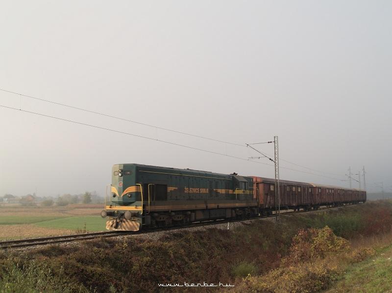 A Szerb Vasút 661 139 pályaszámú Kennedy mozdonya Pozega közelében fotó