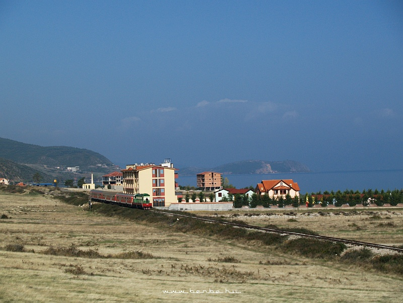T669 1047 Lin és Memelisht között az Ohridi-tó partján fotó