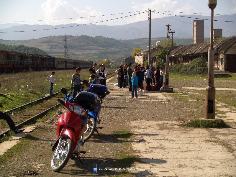 Prenjas állomáson fotó
