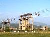 Az utolsó vasércszállító függővasút Elbasanban