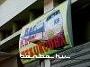 Kocsmatábla a durresi állomáson