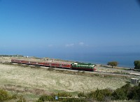 T669 1047 Lin és Memelisht között az Ohridi-tó partján