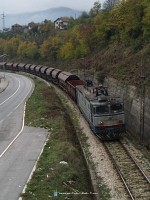 The 461 105 at Prije Polje, between the freight and passanger stations