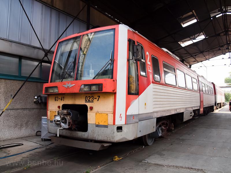 A 6341 023-7 a szolnoki járműjavítóban fotó