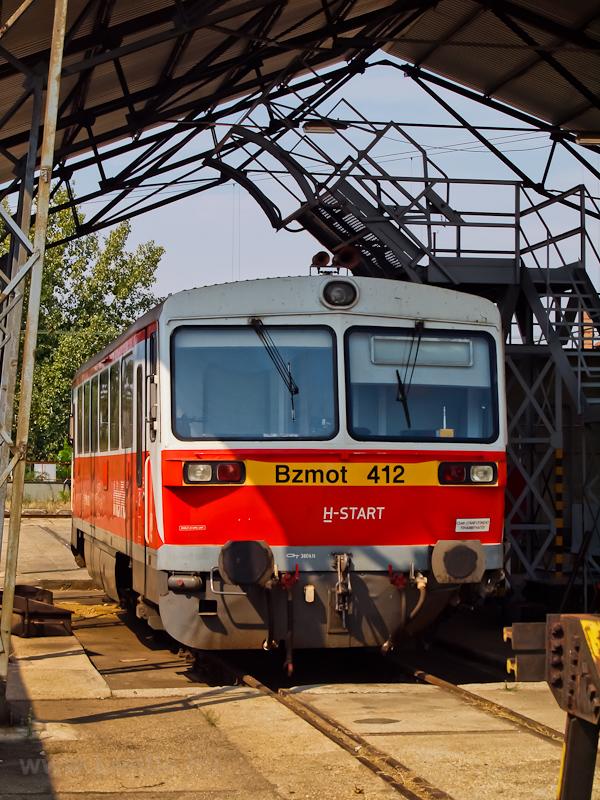 A Bzmot 412 a szolnoki járm fotó