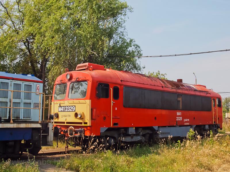 A MÁV-TR M41 2329 a szolnoki járműjavítóban fotó