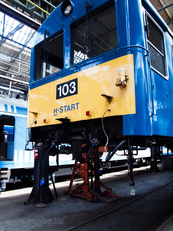 A BDt 103 Szolnokon fotó