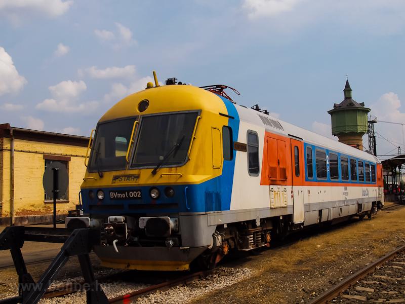 A MÁV-START BVmot 002 a szo fotó