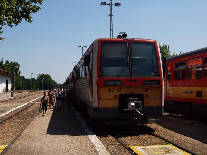 A MÁV-START 6341 039-3 Laki fotó