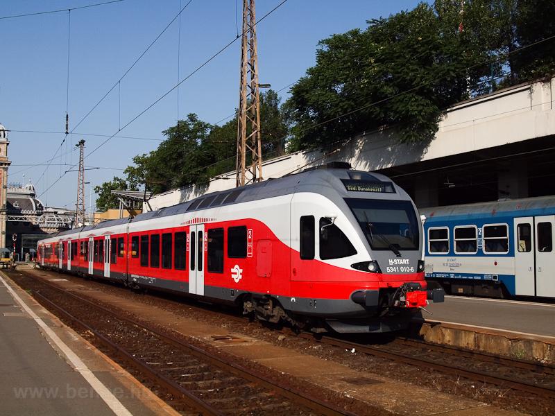 A MÁV-START 5341 010 a Nyugati pályaudvaron fotó