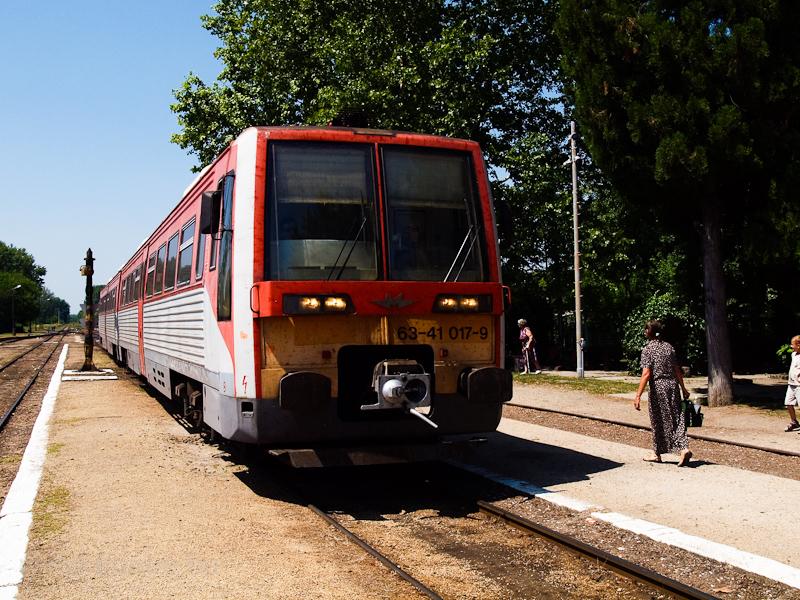 A MÁV-START 6341 017-9 Lakitelek állomáson fotó