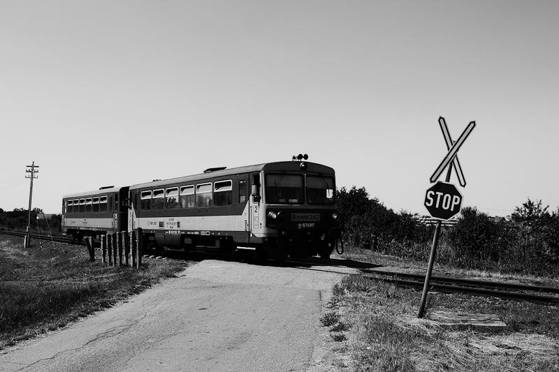 A Bzmot 242 Csongrád és Hékéd között fotó