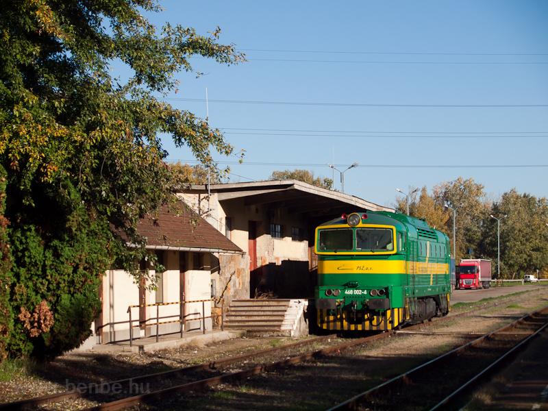 A PSŽ 468 002-4 pályas fotó