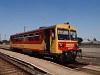 A MÁV-START Bzmot 206 Kunszentmárton állomáson