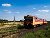 The Bzmot 206 seen between Hékéd and Kistőke