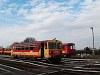 A MÁV-START Bzmot 379 Vésztő állomáson