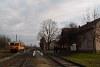 A MÁV-START Bzmot 379 Komádi állomáson