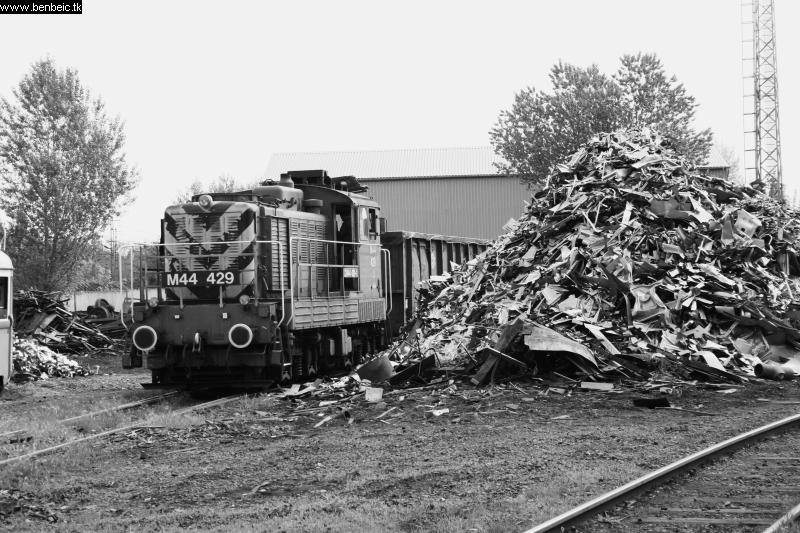 A Bobó a roncstelepet szolgálja épp ki ( M44 429 ) fotó
