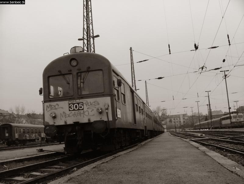 BDt 305 a Nyugatiban fotó