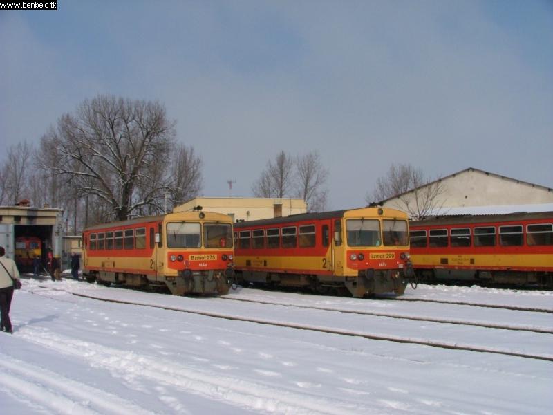 A Bzmot 275 és 279 Kecskeméten fotó