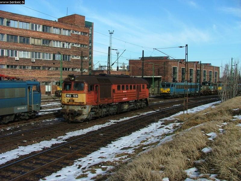 M62 104 tolat Ferencvárosban fotó