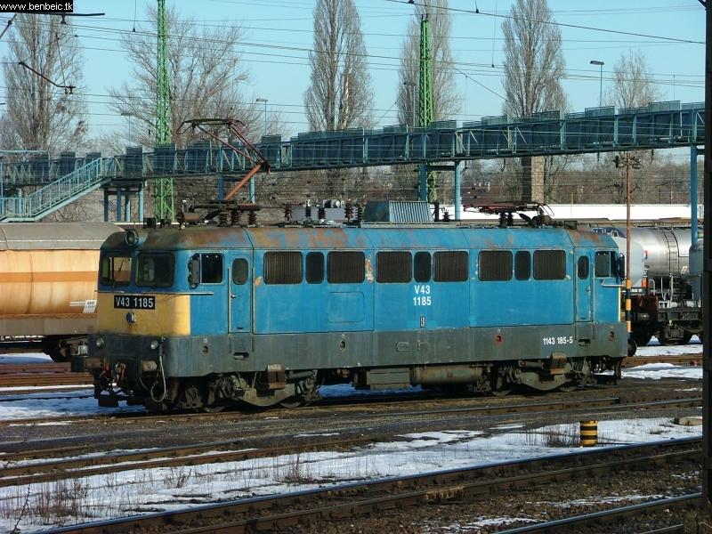 V43 1185 Ferencvárosban fotó