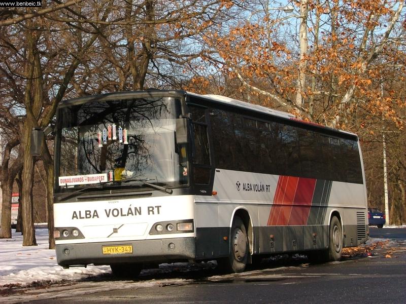 Egy szép Albavolános busz fotó