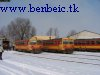 The Bzmot DMUs 275 & 279 at Kecskemét