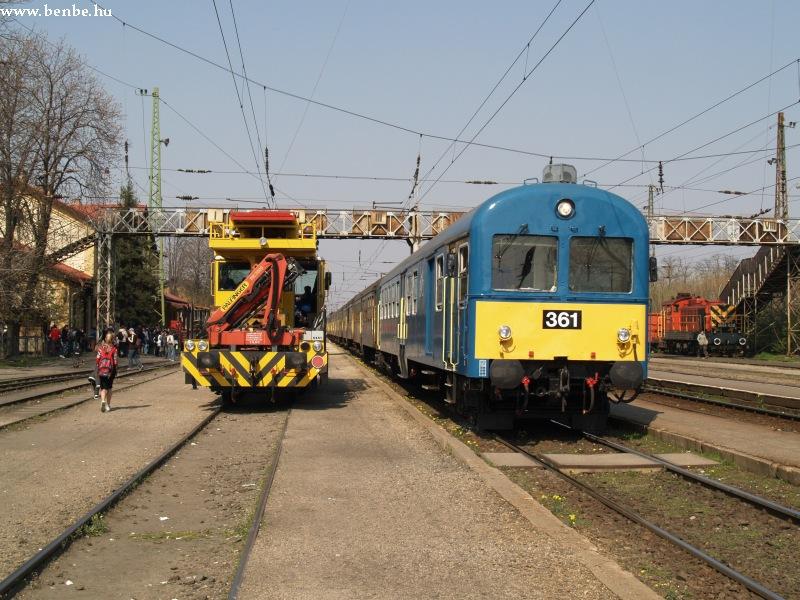BDt 361 Rákospalota-Újpesten fotó