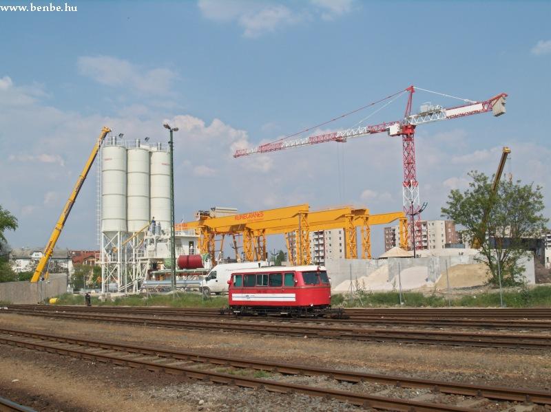Az Amsler a négyes metró építkezésénél fotó