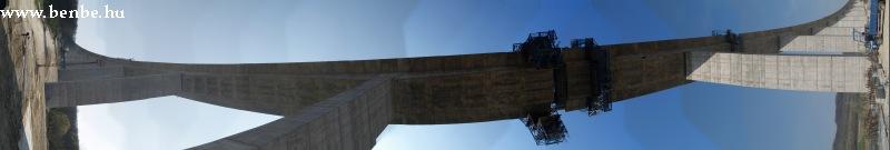 Panorámaképe a Kõröshegyi viaduktról fotó