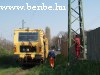 Tamping machine at Pestszentl�rinc