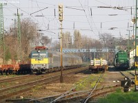 The V43 1193 and A25 016 at Pestszentlrinc station