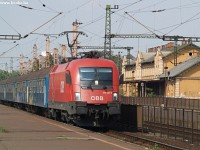 1116 024 with the Sz�zhalombatta stopping service at Kelenf�ld