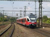Stadler FLIRT 5341 003-1 after her successful test at Kelenf�ld